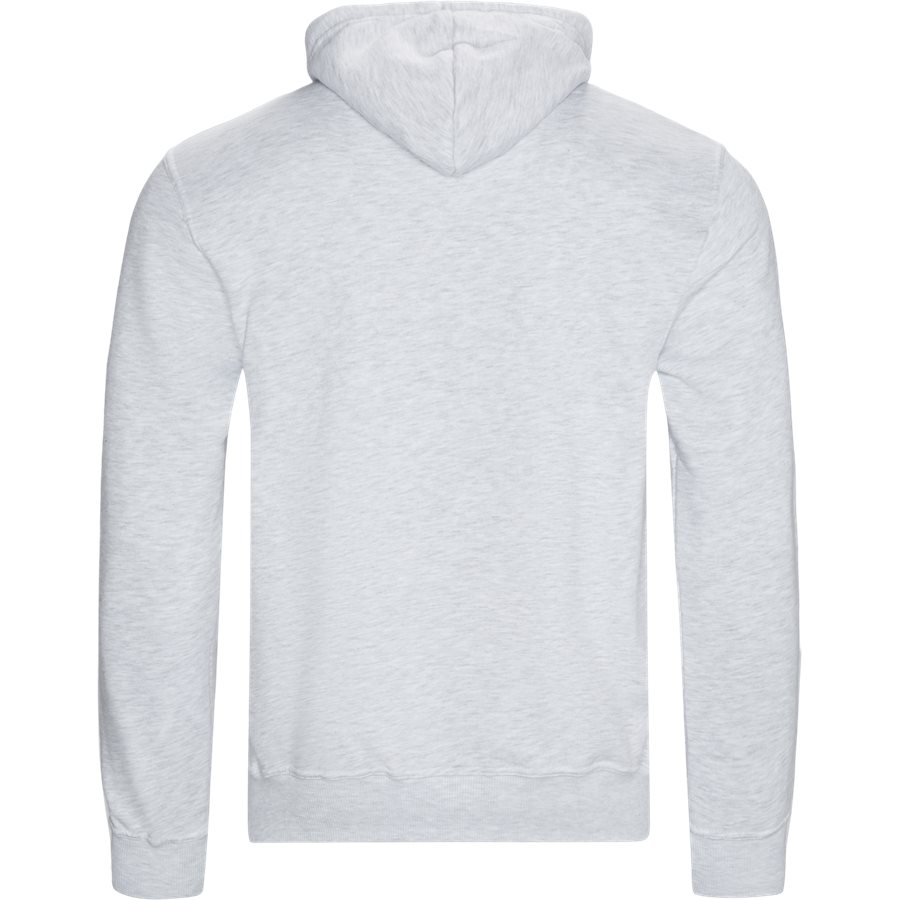 FORCE - Force Hoodie - Sweatshirts - Regular - WHITE MEL - 2